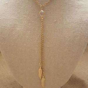 Jewelry - Bohemian Style Leaf Necklace